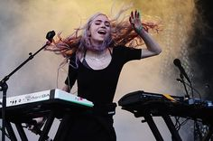 Grimes performing @ Pitchfork Festival July 20 2014, Chicago, IL.