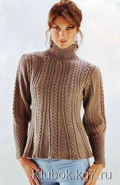 Knit Crochet, Turtle Neck, Pullover, Knitting, Sweaters, Fashion, Tejidos, Moda, Tricot