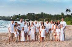 Large family beach portrait, East Sandwich, Cape Cod