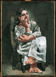 Femme assise 1920 Pablo Picasso