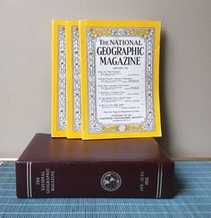 National Geographic storage slipcase box January by SpaceModyssey
