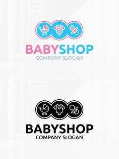 Baby Shop Logo Template. Logo Templates. $29.00