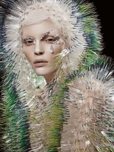 The Natural Vision Editorial for Vogue China is Eccentric and Artsy #fashion #voguechina trendhunter.com