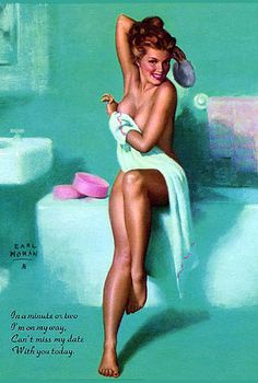 History of Art: Pin-up Art - Earl Moran