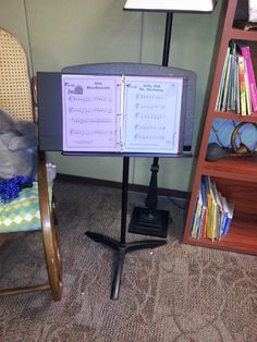 Recorder Karate:    Students play music on various colored cardstock - increasing in difficulty. The color of sheet music responds to the karate belt color they get to put on their recorder after they perform that music!