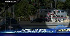 osCurve News: Deputy Pulls Man from Sedan Moments Before Train C...