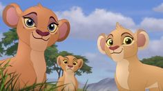 Kiara, Tiifu, and Zuri Lion King 1, Lion King Fan Art, Lion King Movie, Lion Art, Disney Lion King, Anime Lion, The Lion King Characters, Pride Rock, Lion Pictures
