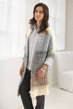 Casual Comfort Jacket--free pattern