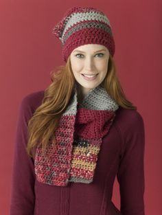Level 2 - Easy Crochet Scarf. Make it with Lion's Pride Woolspun!