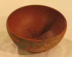 Samian ware, also known as terra sigillata was a very common type of Roman red pottery. It was imported from three regions of Gaul (modern France) over the centuries and was middle-class table ware for home use.