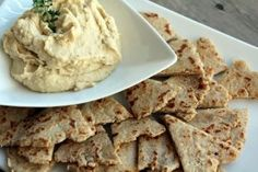 A recipe for roasted garlic white bean dip with olive oil