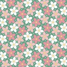 pretty in pink fabric by sef on Spoonflower - custom fabric