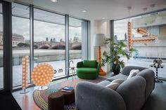 Moooi en Londres, un espectacular showroom con vistas al Támesis