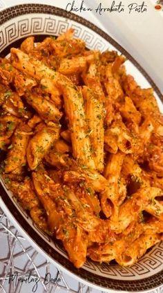 Chicken Arrabiata Pasta recipe by Mumtaz Abdool