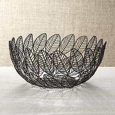 Leaf Wire Basket