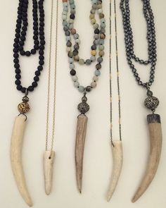 17 Best ideas about Antler Necklace Boho Jewelry, Jewelery, Handmade Jewelry, Jewelry Necklaces, Fashion Jewelry, Jewelry Ideas, Beach Jewellery, Vintage Jewelry, Deer Antler Jewelry