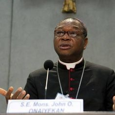 Archbishop John Olorunfemo Oneiyekan van Abuja, Nigeria.it