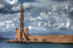 Kreta: Der Leuchtturm von Chania