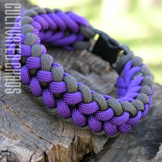 Paracord Bracelet: Mini Sanctified Weave from CULTIVATED CHAOS