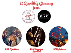 Super Sparkle Week: LVW Loves ViP Sparklers   A Sparkling Wedding Giveaway!