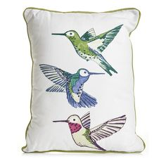 Wilko Bird Cushion 43x33cm