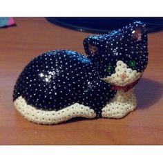 Gatto coricato personalizzabile. #Portafortuna! :-) #Matea.it