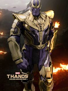 Thanos By Sideshow Collectables. Ms Marvel, Marvel Avengers, Marvel Comics Superheroes, Thanos Marvel, Marvel Villains, Marvel Comic Universe, Marvel Heroes, Marvel And Dc Characters, Marvel Comic Character