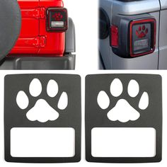 Tail Light Cover Guard Dog Paw Style Accessories For Jeep Wrangler JL 2018 Jeep Wrangler Accessories, Jeep Accessories, Jeep Wrangler Sport, Jeep Wrangler Unlimited, Jeep Rubicon, Jeep Jeep, Jeep Wranglers, Accessoires Jeep, Jeep Hacks