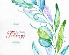 This set of 11 high quality hand painted watercolor floral Images( branches, wreaths, leaves). Perfect graphic for wedding invitations, greeting