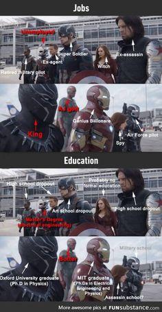 Choose your hero...(Iron Man ftw)