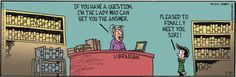 Siri is a librarian? (a little library humor!)