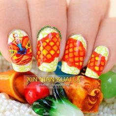 Instagram photo by maespiritu_artofnail  #nail #nails #nailart