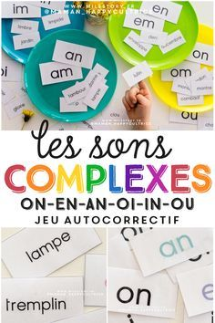 French Language Lessons, French Lessons, Preschool Worksheets, Craft Activities For Kids, Teaching French, French Teaching Resources, French Expressions, Reading Games, Learn French