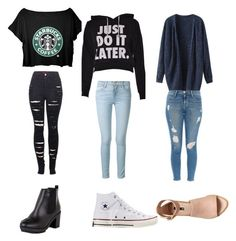 """Threesome"" by keke-wynter on Polyvore"