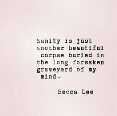 Sanity - Becca Lee