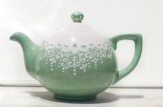 Teapot for the collector by Dprintsclayful on Etsy