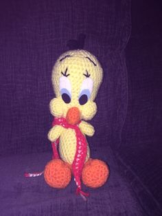 Tweety bird pattern can be found here: http://zancrochet.blogspot.com/2015/03/amigurumi-tweety.html?m=1