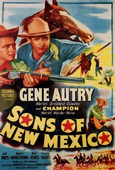 100 Years of Movie Posters: Gene Autry