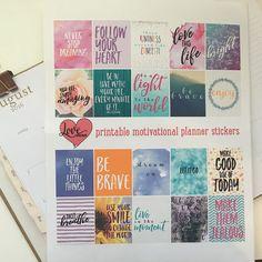 Free printable motivational stickers   LovePaperCrafts.com