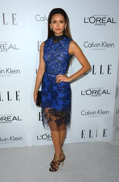 2f97cd440e41ee Nina Dobrev Photos - Actress Nina Dobrev arrives at ELLE s Annual Women In  Hollywood Celebration at the Four Seasons Hotel on October 2012 in Beverly  Hills