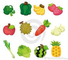 Resultado de imagem para desenho de frutas e legume