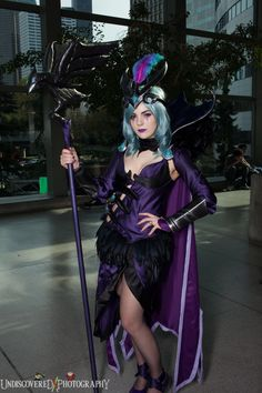 Ravenborn LeBlanc cosplay by Bloodraven Cosplay - Series: League of Legends -  Photo by Undiscovered Photography : https://www.facebook.com/undiscoveredphotography