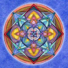 Mandala Art   Mandala Painting by Jo Thomas Blaine - Harmony Mandala Fine Art ...