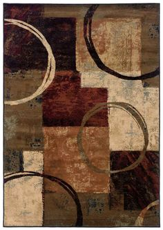 I need this rug! Outstanding style and colors only at RugSale.com!  Oriental Weavers Sphinx Hudson 2544B Brown
