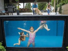 An Abbotsford couple is making a big splash in the world of outdoor recreation by converting shipping containers into backyard pools.Paul and Denise Rathnam launched Modpools at the B.C. Home + Gar…