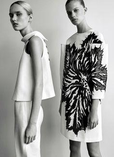 Harleth Kuusik & Lexi Boling by Josh Olins for Carolina Herrera: 35 Years of Fashion