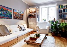 瑞典 14 坪城市鄉村風公寓 - DECOmyplace