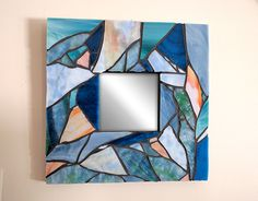 """Check out new work on my @Behance portfolio: """"Blue Mosaic Mirror"""" http://be.net/gallery/50175895/Blue-Mosaic-Mirror"""