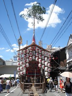 Gion Matsuri Festival float