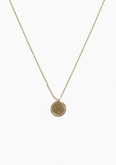 & Other Stories image 1 of Circle Necklace in Gold